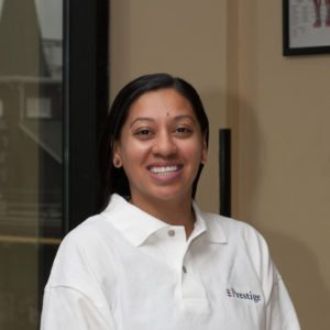 "Dr. Pina Patel, Physical Therapist from the ""Prestige Health & Wellness"" in Astoria"