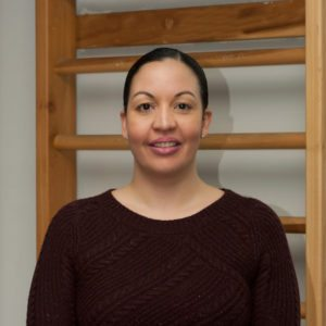 "Maria Ramirez, Office Manager in the ""Prestige Health & Wellness"" Chiropractic Center in Gramercy"