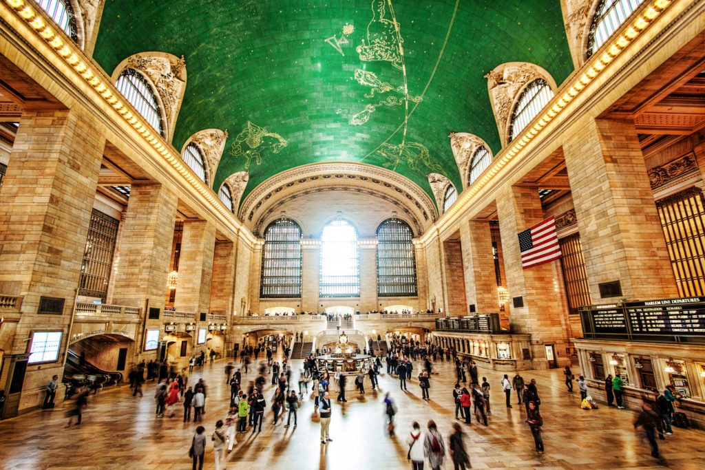 Inside Grand Central Station in Midtown, NYC
